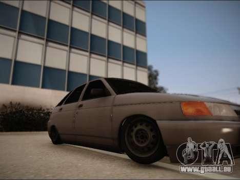 VAZ 2112 pour GTA San Andreas vue de droite