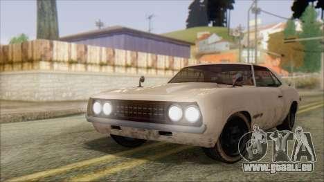 GTA 5 Vigero für GTA San Andreas