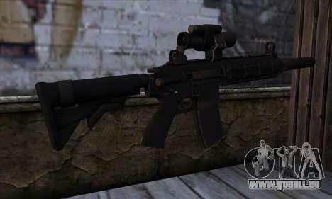 HX AP 15 from Hitman Absolution für GTA San Andreas zweiten Screenshot