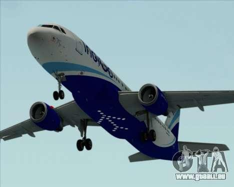 Airbus A320-200 IndiGo für GTA San Andreas Motor