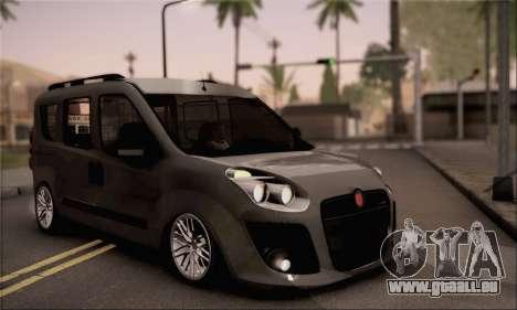 Fiat Doblo 2010 pour GTA San Andreas