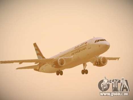 Airbus A320-214 Afriqiyah Airways pour GTA San Andreas