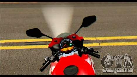Honda All New CBR150R für GTA San Andreas zurück linke Ansicht