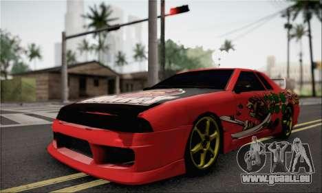 New Elegy Drift Edition für GTA San Andreas zurück linke Ansicht