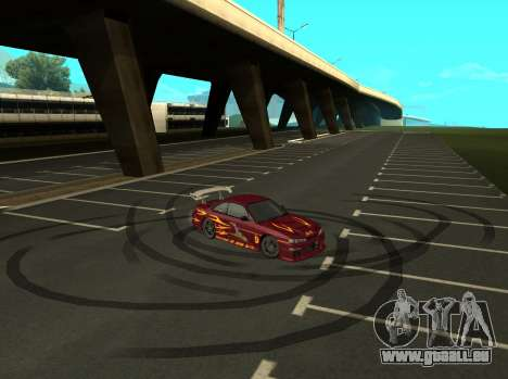 Nissan 200SX FnF1 (Letty car) für GTA San Andreas rechten Ansicht