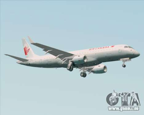 Embraer E-190 Air Canada für GTA San Andreas rechten Ansicht