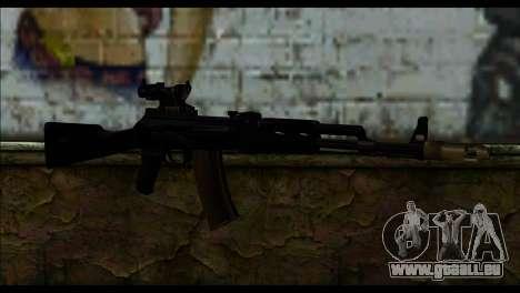 AK-101 ACOG pour GTA San Andreas