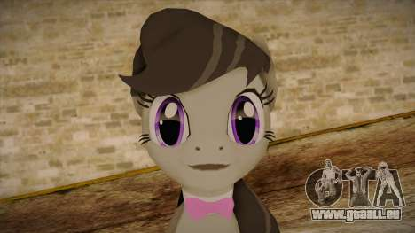 Octavia from My Little Pony für GTA San Andreas dritten Screenshot