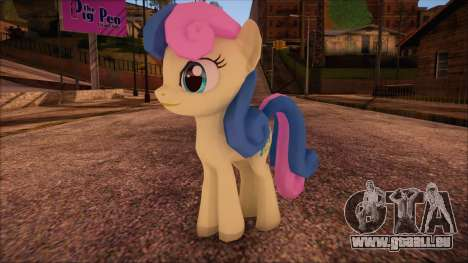 BonBon from My Little Pony pour GTA San Andreas