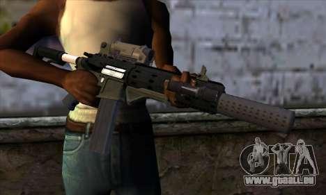Carbine Rifle from GTA 5 v1 pour GTA San Andreas troisième écran