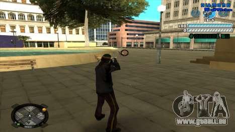 C-HUD Respect pour GTA San Andreas troisième écran