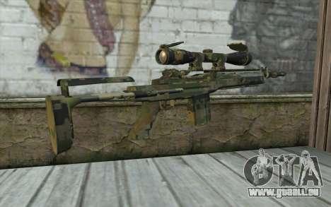 M14 EBR Digiwood pour GTA San Andreas deuxième écran