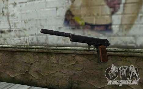 Silenced Colt45 pour GTA San Andreas