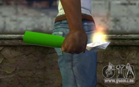 Molotov Cocktail from GTA Vice City für GTA San Andreas dritten Screenshot