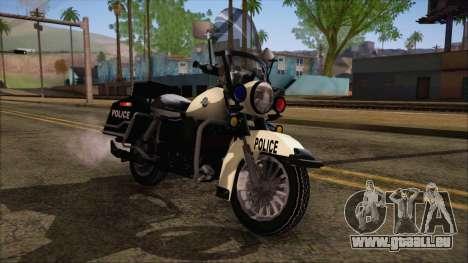 GTA 5 Police Bike pour GTA San Andreas