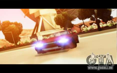 Elegy By Next für GTA San Andreas linke Ansicht