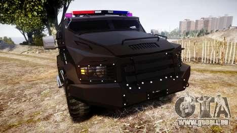 SWAT Van Metro Police pour GTA 4