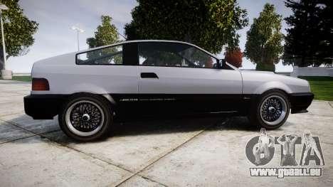Dinka Blista Compact Sport pour GTA 4 est une gauche