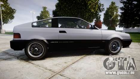 Dinka Blista Compact Sport für GTA 4 linke Ansicht
