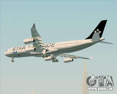 Airbus A340-300 All Nippon Airways (ANA) für GTA San Andreas Unteransicht