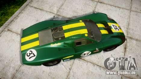 Ford GT40 Mark IV 1967 PJ 37 für GTA 4 rechte Ansicht