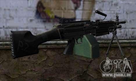 M249 v2 für GTA San Andreas zweiten Screenshot