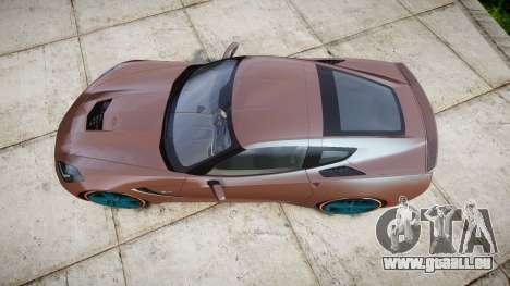 Chevrolet Corvette C7 Stingray 2014 v2.0 TireBr1 pour GTA 4 est un droit