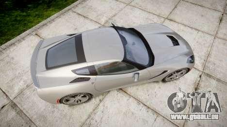 Chevrolet Corvette C7 Stingray 2014 v2.0 TireMi2 pour GTA 4 est un droit