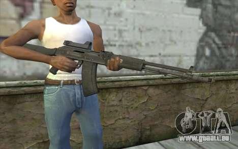 AK-107 de ARMA2 pour GTA San Andreas troisième écran