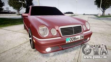 Mercedes-Benz W210 E55 2000 AMG Vossen VVS CV3 pour GTA 4