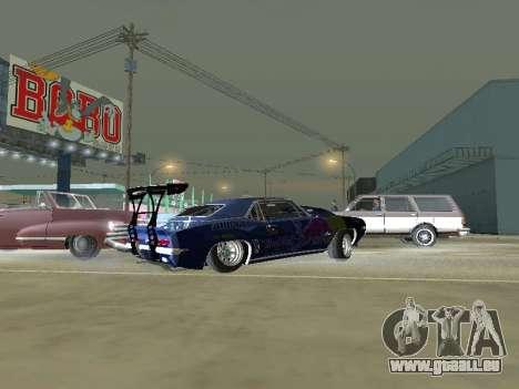 Chevrolet Camaro SS RedBull für GTA San Andreas linke Ansicht
