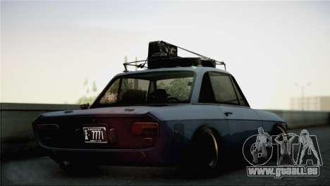 Lancia Fulvia pour GTA San Andreas laissé vue