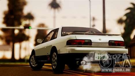 Nissan Silvia S13 1992 IVF pour GTA San Andreas laissé vue