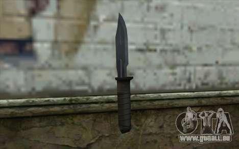 Retextured Knife für GTA San Andreas zweiten Screenshot