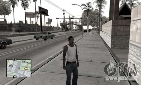 Winter Colormod für GTA San Andreas