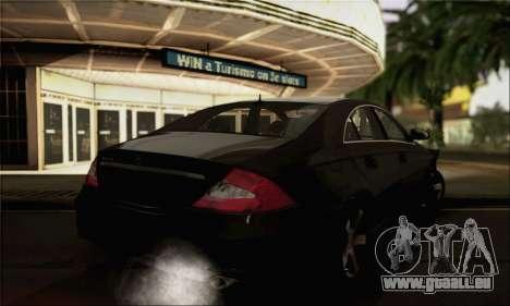 Mercedes-Benz CLS 500 pour GTA San Andreas laissé vue