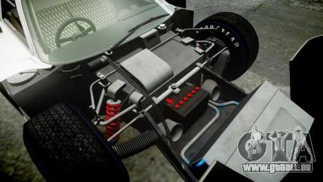 Ford GT40 Mark IV 1967 PJ Schila Racing 19 für GTA 4 obere Ansicht