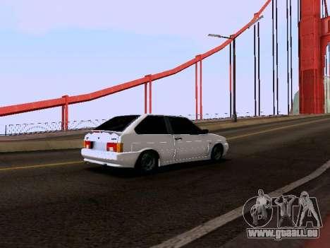 VAZ 2113 pour GTA San Andreas vue de droite