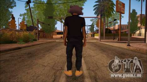 GTA 5 Online Skin 11 pour GTA San Andreas deuxième écran
