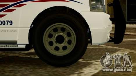 Dundreary Landstalker [ELS] pour GTA 4 Vue arrière de la gauche