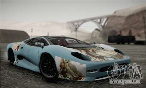 Jaguar XJ220S Ultimate Edition für GTA San Andreas Innenansicht