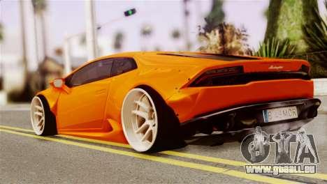 Lamborghini Huracan LB pour GTA San Andreas laissé vue