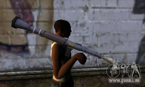 RPG from GTA 5 pour GTA San Andreas troisième écran
