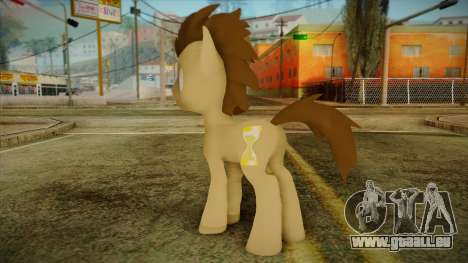 Doctor Whooves from My Little Pony für GTA San Andreas zweiten Screenshot