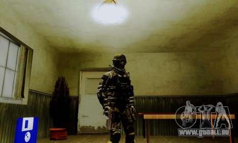 Spec Ops pour GTA San Andreas troisième écran