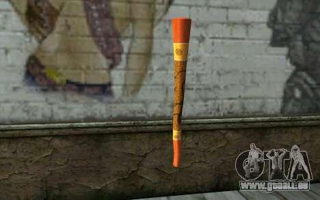 Flûte pour GTA San Andreas deuxième écran