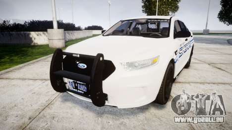 Ford Taurus 2014 [ELS] Liberty County Sheriff pour GTA 4