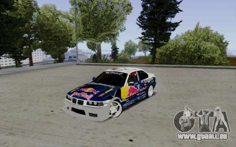 BMW E36 Red Bull für GTA San Andreas