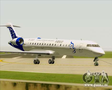 Embraer CRJ-700 China Express Airlines (CEA) pour GTA San Andreas vue de côté