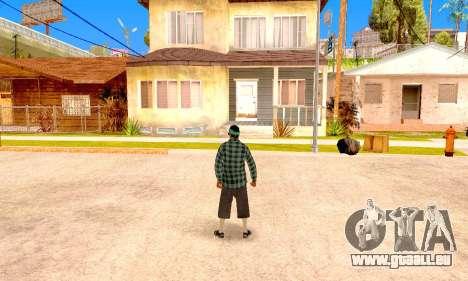 Varios Los Aztecas pour GTA San Andreas sixième écran